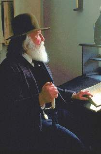Darrel as Walt Whitman